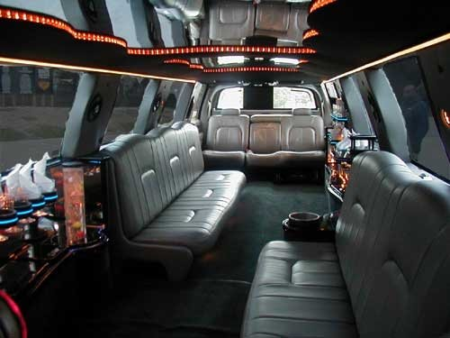 Your friends will love riding with you in this gorgeous stretch limousine.