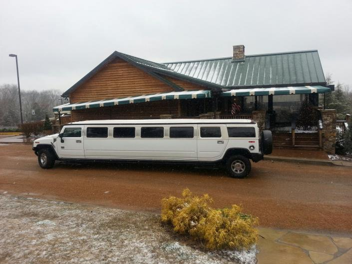 [Image: Hummer's are ideal for taking a group for an event.]