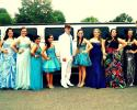 prom limousine choice was a hummer limousine provided by Courtesy Limousine Service.