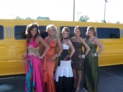 Prom is one of the biggest nights of your life. Arrive in style with all your friends in a stretch limo!